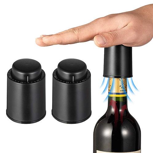 按壓抽真空紅酒塞 (兩入組) 酒瓶塞