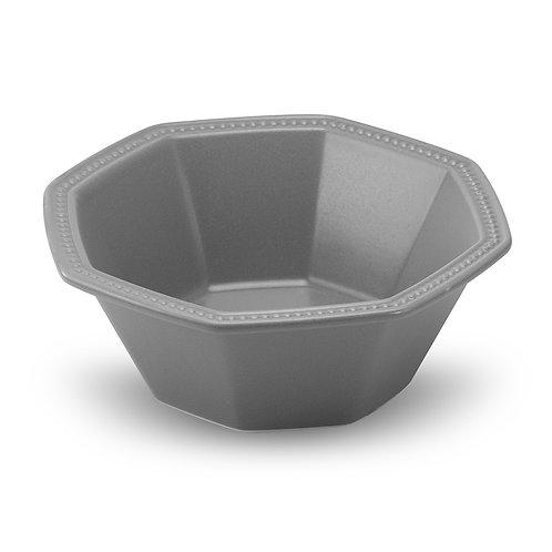 瑞典【GREEGREEN】 匈牙利八角陶瓷沙拉碗 (深灰)
