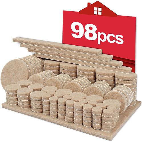 地板保護毛氈墊套裝 防刮墊 毛氈墊 防滑貼片