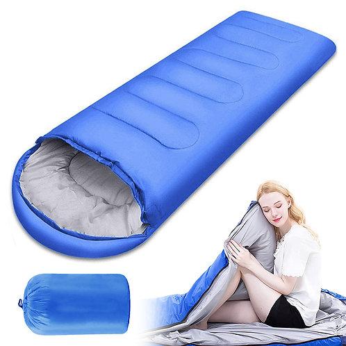 輕量中空棉超保暖信封睡袋 ( 25~15℃適用 ) 登山 露營
