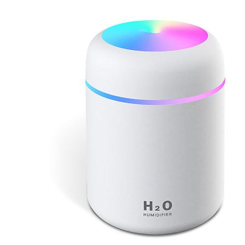 小夜燈靜音桌面加濕器 USB供電 水氧機 香薰機 空氣清淨器