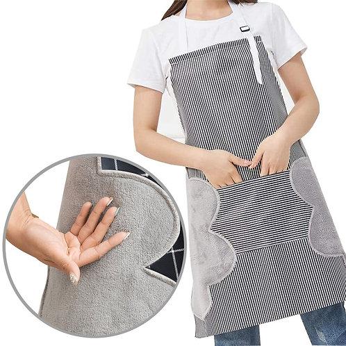 防水牛津布擦手巾廚房圍裙 工作圍裙