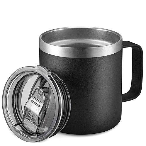 辦公室不鏽鋼保冰保溫杯 12oz 泡茶杯 咖啡杯 保冰杯 辦公杯