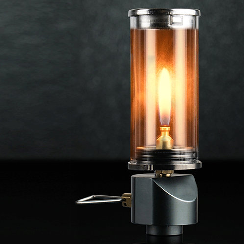無芯燭光登山瓦斯燈 露營燈 燃氣燈 汽化燈
