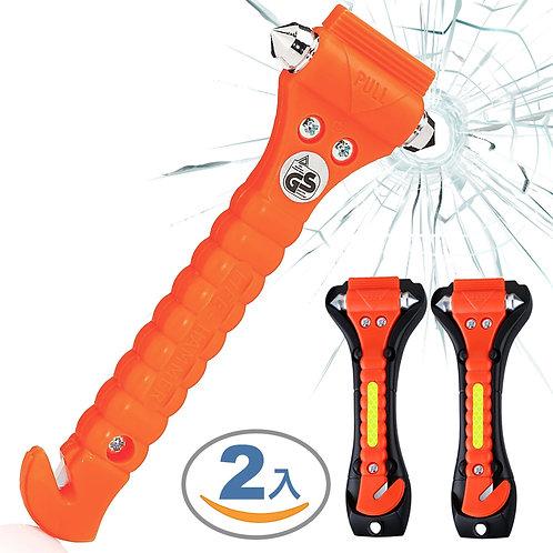強力破窗器 2支入 安全帶切割器