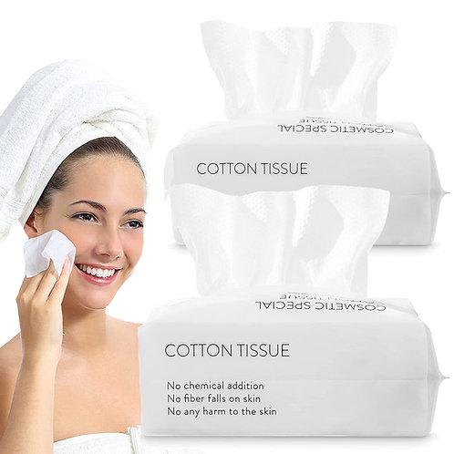 15x20加厚親膚棉質洗臉巾 100抽 兩入組 化妝棉 卸妝棉 洗臉毛巾