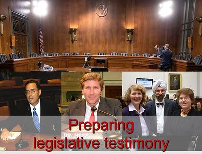Preparing legislative testimony slide.jp