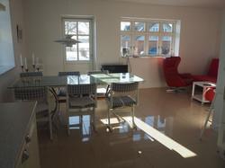 Apt. A, Kitchen and livingroom