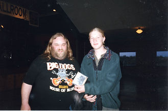 Derek Trucks with our CD