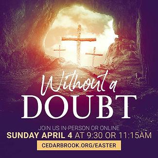Easter at Cedarbrook
