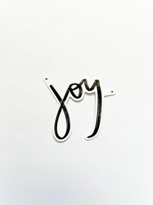 JOY. Sticker