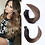 Thumbnail: Tape in Human Hair Extensions 100% Real Remy Human Hair Extensions