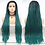 Thumbnail: Braided Synthetic Lace Front Wig