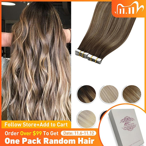 Tape in Hair Extensions Real Human Hair