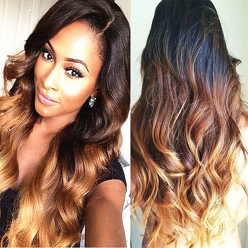 Malaysian Ombre Lace Front Wig