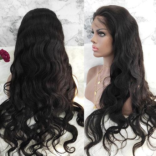 100% Brazilian Remy Hair Body Wave 13x4 Lace Front Human Hair Wigs