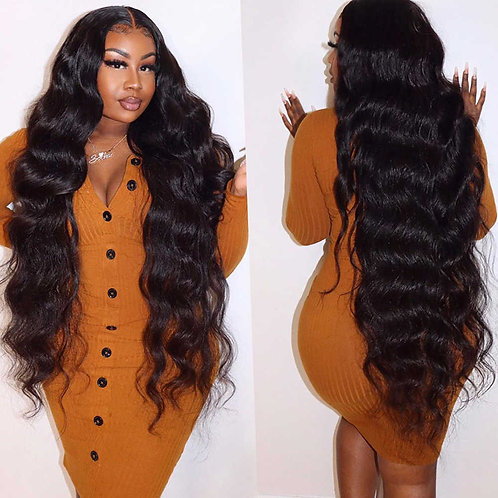 Brazilian Body Wave Lace Front Wig 28-40 Inches