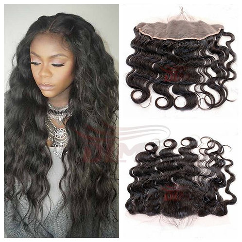 Curly lace frontal available 16 inches