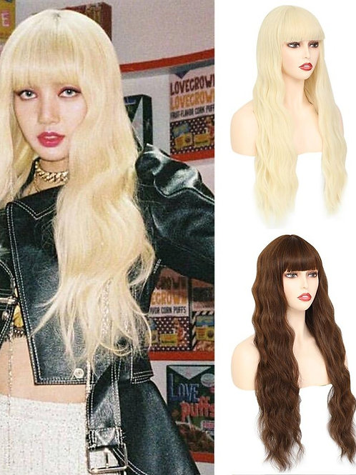613 Blonde Wigs for Women Wavy