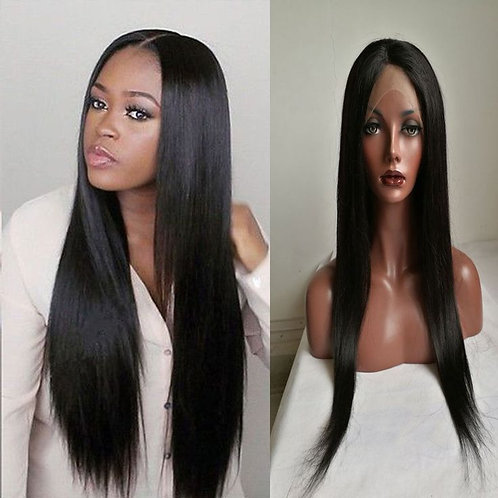 Straight Full Lace Wig Peruvian Hair