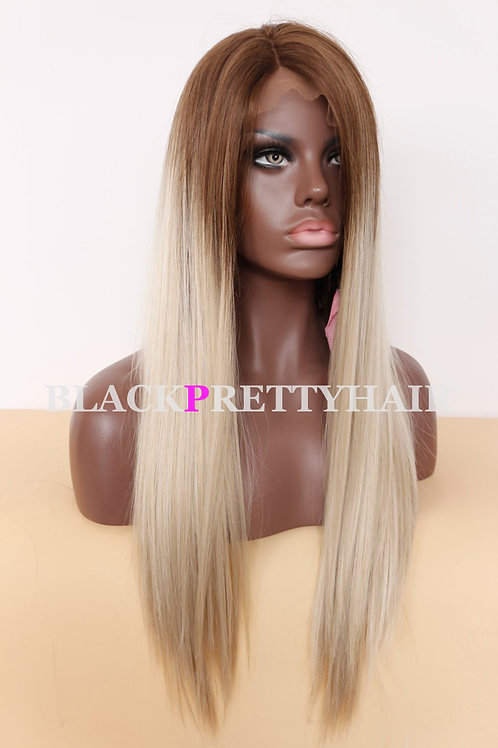 Blonde two tone wig