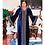 Thumbnail: Muslim Long Maxi Dress High Quality Fashion African Dress