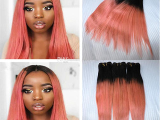 Rose hair extensions and wigs