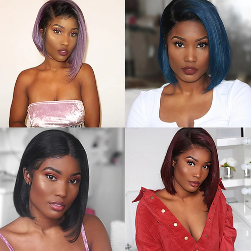 Bob Wigs in different shades