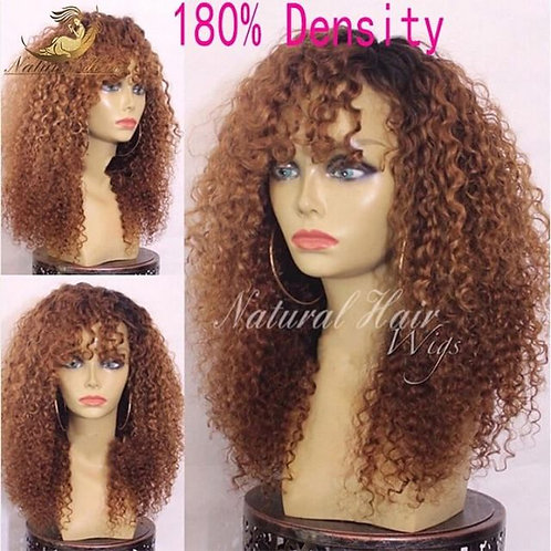 Curly Full Lace wig #4