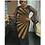 Thumbnail: Dashiki Mesh Ruffle Sleeve Robe