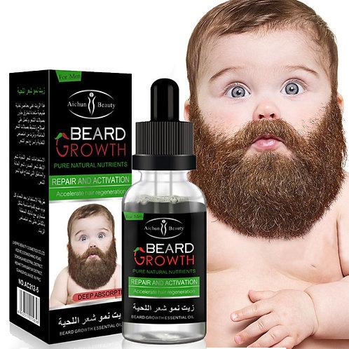 Natural Organic Men Beard Growth Oil Beard