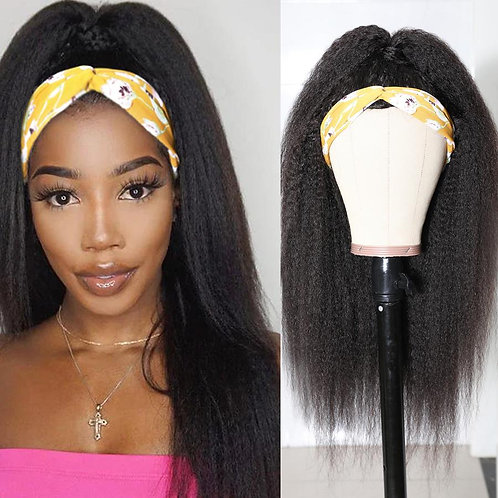 Headbands Wig for Women Brazilian Kinky Straight