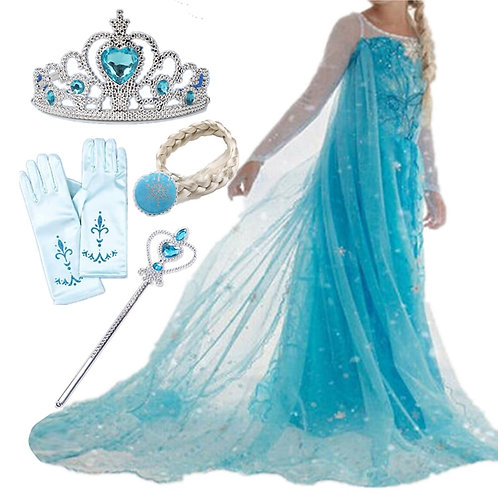 Halloween Dress Girls Costume Fancy Party Princess set
