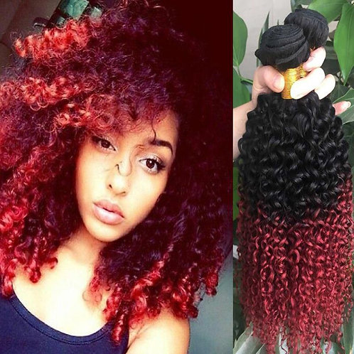 Two tone Curly Extensions