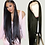 Thumbnail: 30 Inch Bone Straight Lace Front Wig