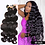 Thumbnail: Body Wave 28 30 32 40 Inch Remy Brazilian Hair Weave Bundles Natural Color 100%