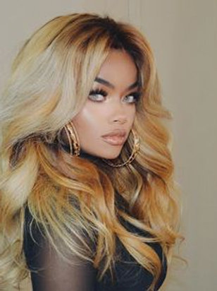 Ombre Honey Blonde LaceFront Wig