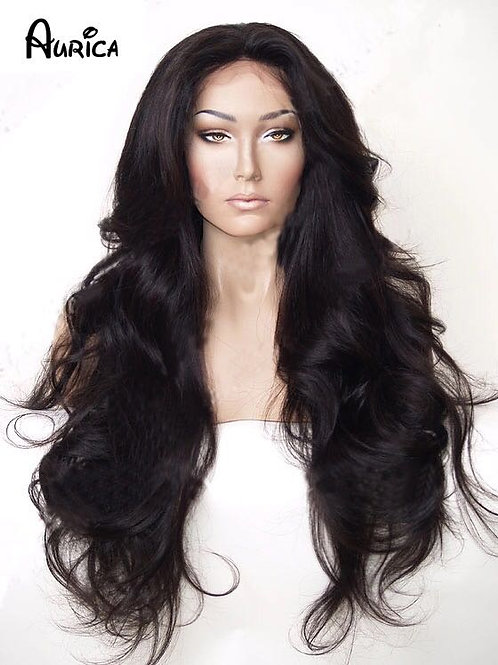 Heat resistance synthetic wig 30 inches