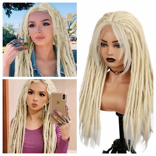 Blonde Dreadlock Synthetic Wig