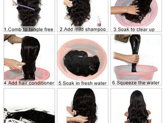 How to wash your wig?