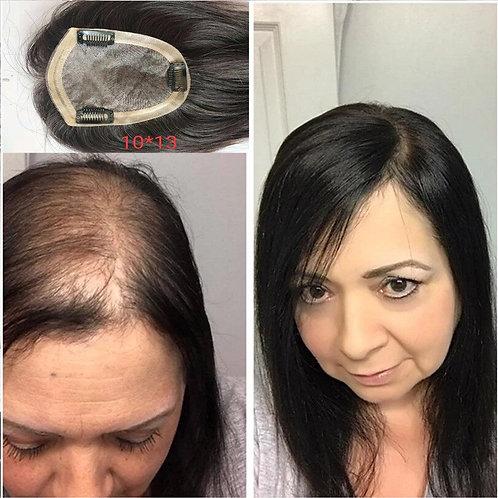 5*8 Toupee Hair for Women Hair Topper Human Hair Clip