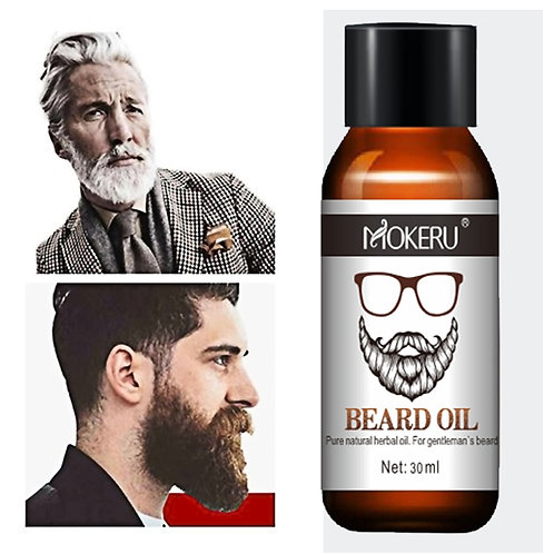 30ml Mokeru Natural Organic Beard Growth Oil