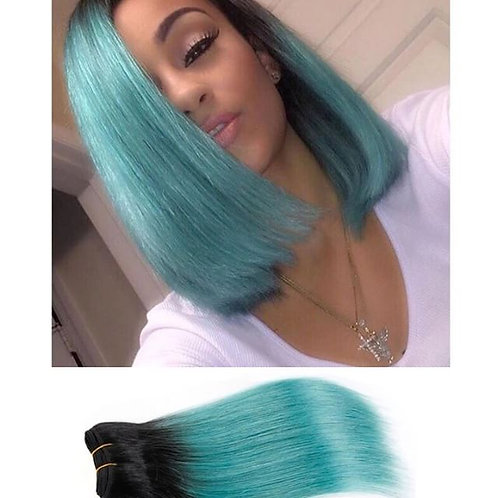 Ombre Green Extenions