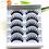 Thumbnail: 5 Pairs 3D Faux Mink Hair  Wispies Fluffies Drama
