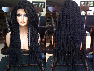 Faux Locs the new hair trend