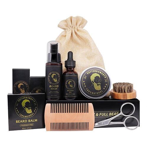 Beard Care Kit 7Pcs