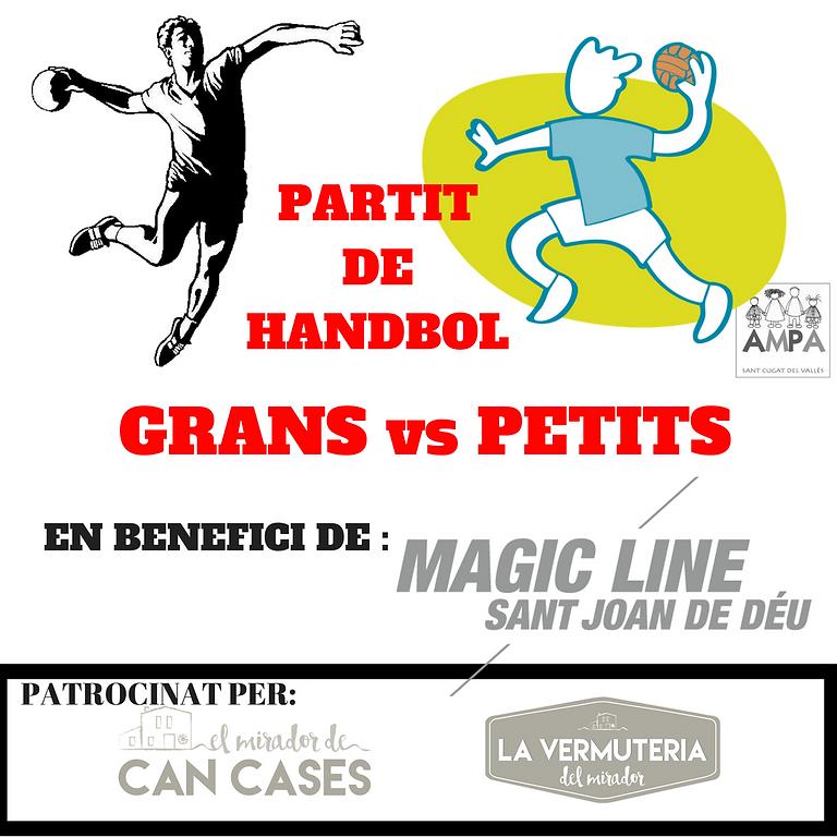PARTIT HANDBOL GRANS vs PETITS