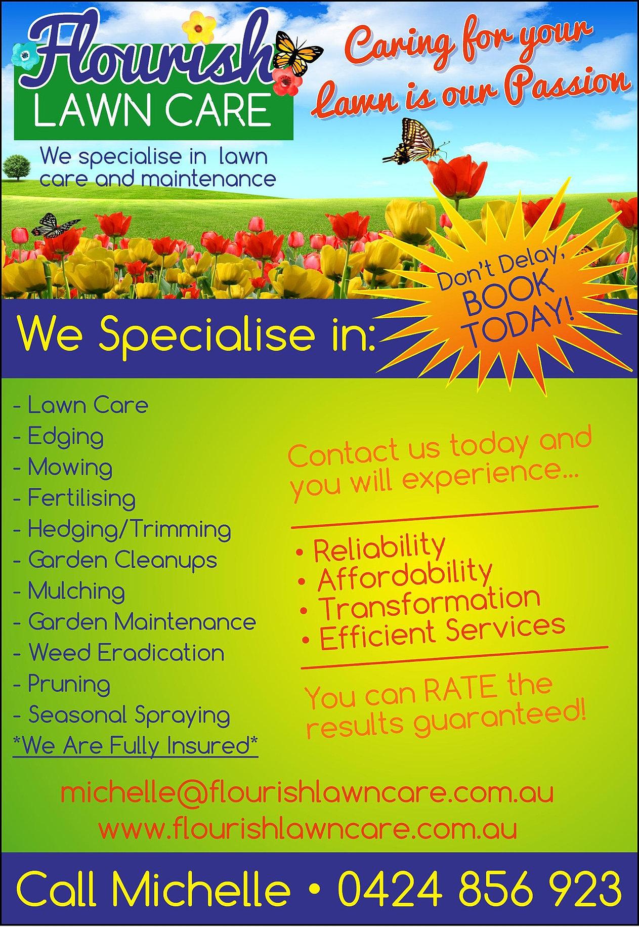 Flourishlawncare Specials