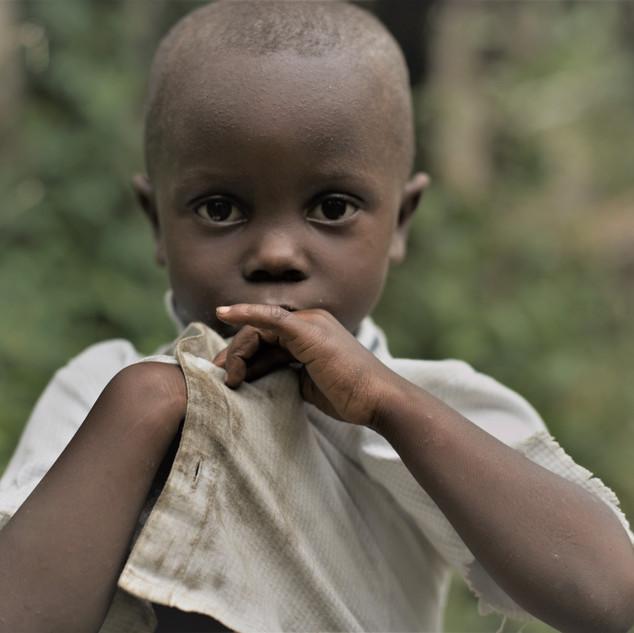 Boy in the gardens of the Belo Monte plantation