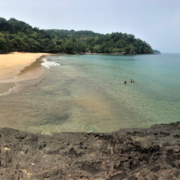 Praia Camphaina, central north coast